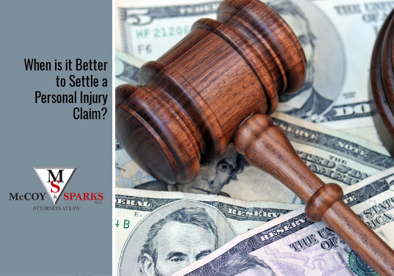 When is it Better to Settle a Personal Injury Claim?