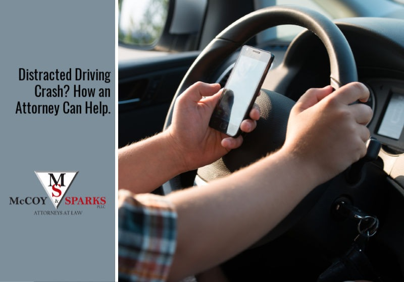 How Can A Personal Injury Lawyer Help Me If I'm in a Distracted Driving Crash?