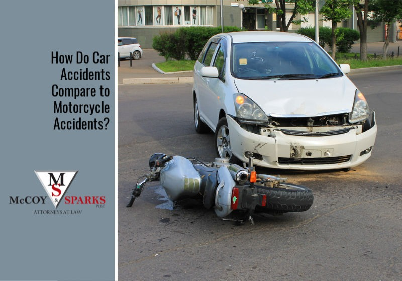 How Do Car Accidents Compare to Motorcycle Accidents?