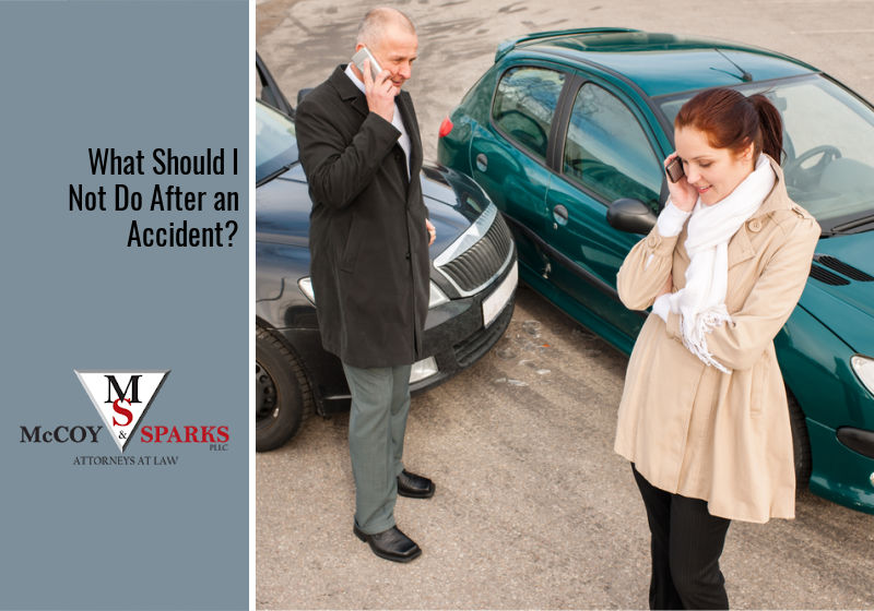 What Should I Not Do After an Accident?