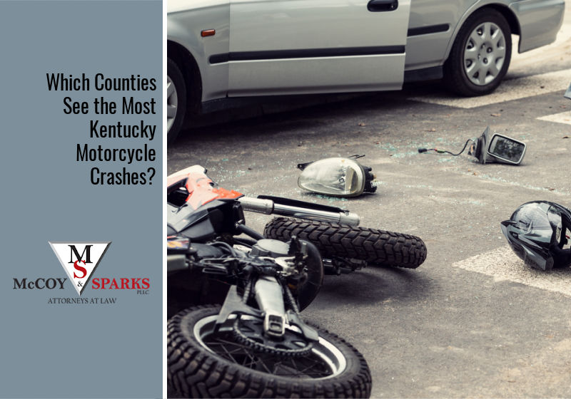Which Counties See the Most Kentucky Motorcycle Crashes?
