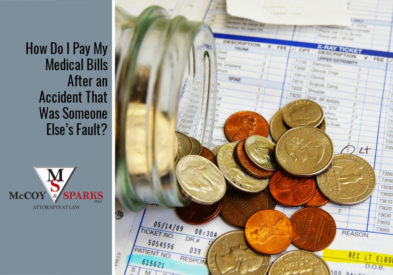 How Do I Pay My Medical Bills After an Accident That Was Someone Else's Fault?