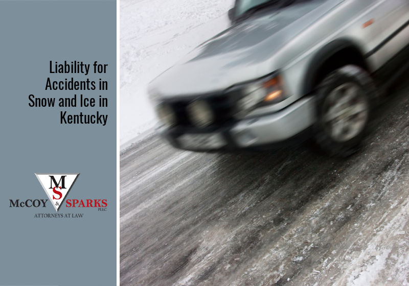 Liability for Accidents in Snow and Ice in Kentucky