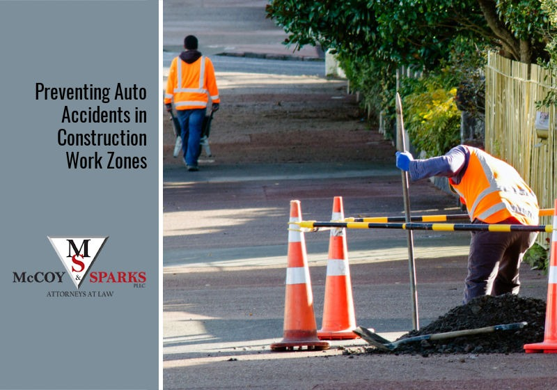 Preventing Auto Accidents in Construction Work Zones