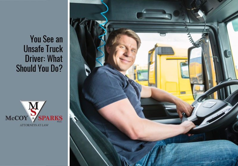 You See an Unsafe Truck Driver: What Should You Do?