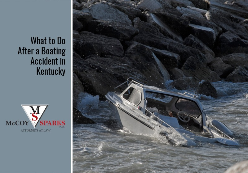 What to Do After a Boating Accident in Kentucky