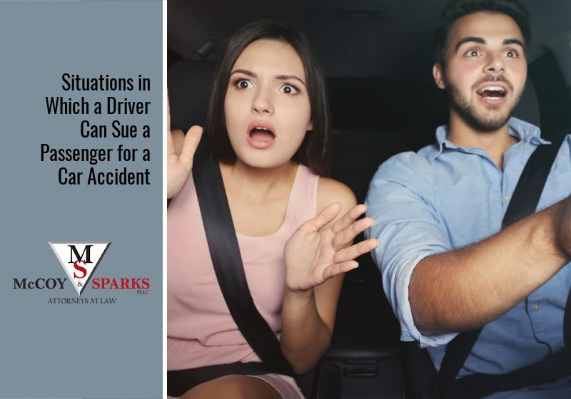 Situations in Which a Driver Can Sue a Passenger for a Car Accident