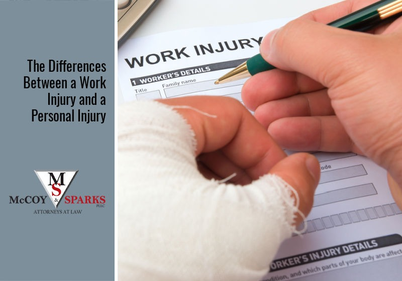 The Differences Between a Work Injury and a Personal Injury
