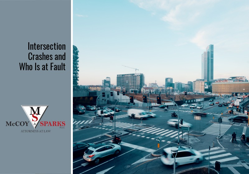 Intersection Crashes and Who Is at Fault