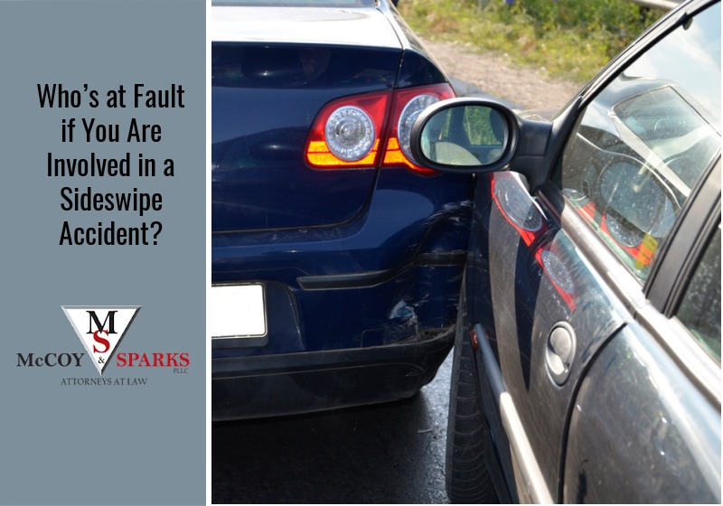 Who's At Fault If You Are Involved In A Sideswipe Accident?